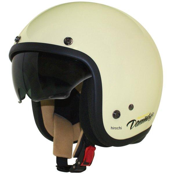 メーカー在庫あり ダムトラックス DAMMTRAX 安心と信頼 ジェットヘルメット AIR MATERIAL 4560185906734 パールアイボリー 56cm-57cm HD店 レディース 使い勝手の良い