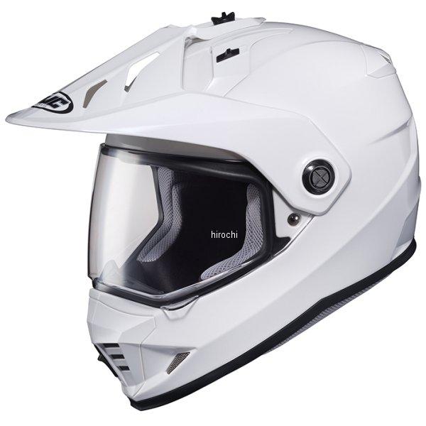 【メーカー在庫あり】 エイチジェイシー HJC フルフェイスヘルメット DS-X1 ソリッド 白 Mサイズ(57-58cm) HJH133WH01M HD店