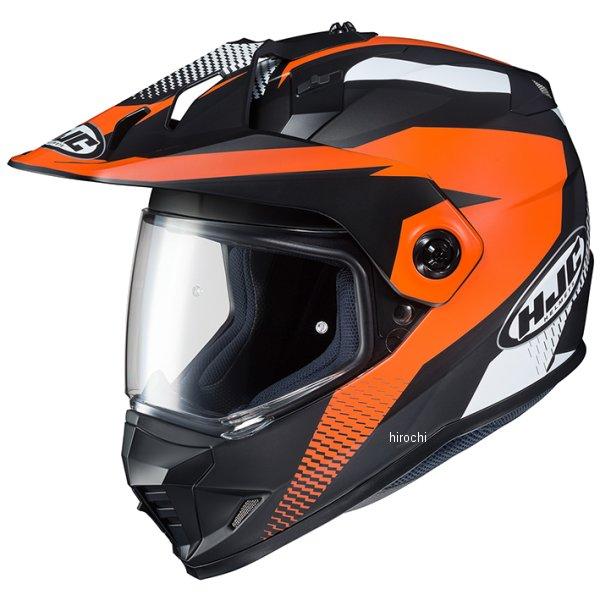 【メーカー在庫あり】 エイチジェイシー HJC フルフェイスヘルメット DS-X1 エーウィング オレンジ Lサイズ(59-60cm) HJH134OR01L HD店