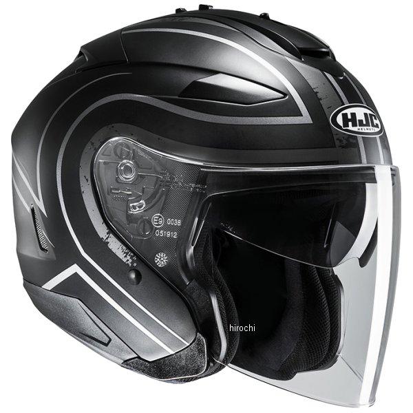 【メーカー在庫あり】 エイチジェイシー HJC ジェットヘルメット IS-33 II エイプス 黒/シルバー Mサイズ(57-58cm) HJH146SV01M HD店