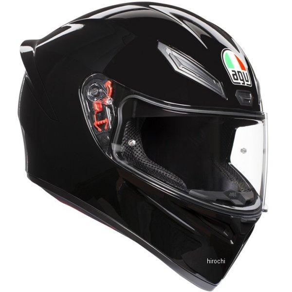 028194IY-002-XL エージーブイ AGV フルフェイスヘルメット K1 JIST SOLID アジアフィット 黒 XLサイズ(61-62cm) 028194IY002-XL HD店