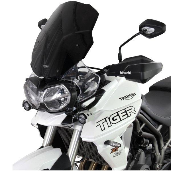 MT919K エムアールエー MRA スクリーンツーリング 18年以降 トライアンフ タイガー800、XC、XR ブラック 4549950957706 HD店