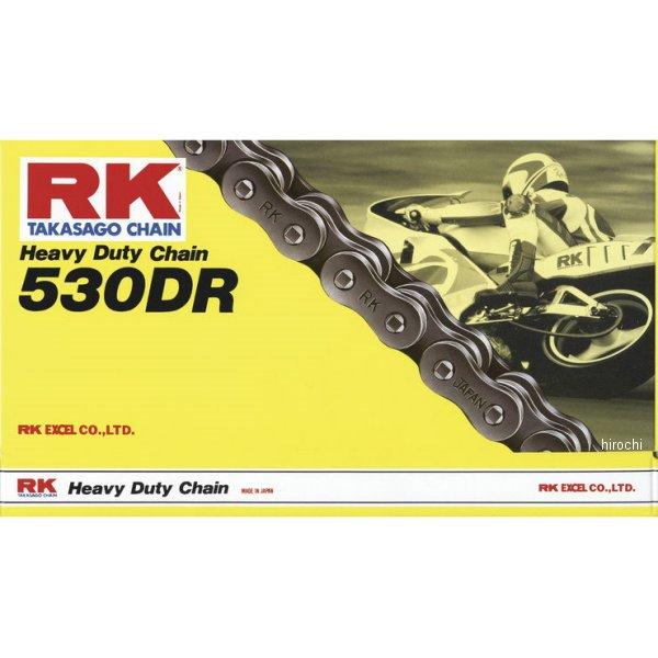 【USA在庫あり】 アールケー RK Racing チェーン 530DR 150リンク ナチュラル 187130 HD店
