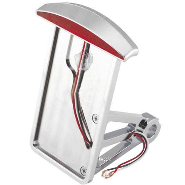 【USA在庫あり】 バイカーズチョイス Biker's Choice キャッツアイ LEDテールランプ付き ナンバープレート サイド縦マウント 87年-99年 FXST、FLST 490257 HD