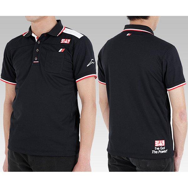 ヨシムラ クシタニ ポロシャツ 黒 LL 900-218-22LL HD店