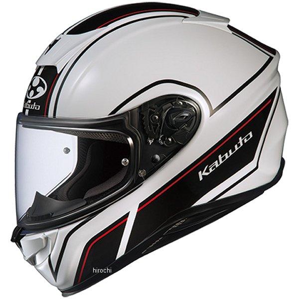 【メーカー在庫あり】 オージーケーカブト OGK KABUTO フルフェイスヘルメット AEROBLADE-5 SMART ホワイトブラック Lサイズ 4966094575199 HD店