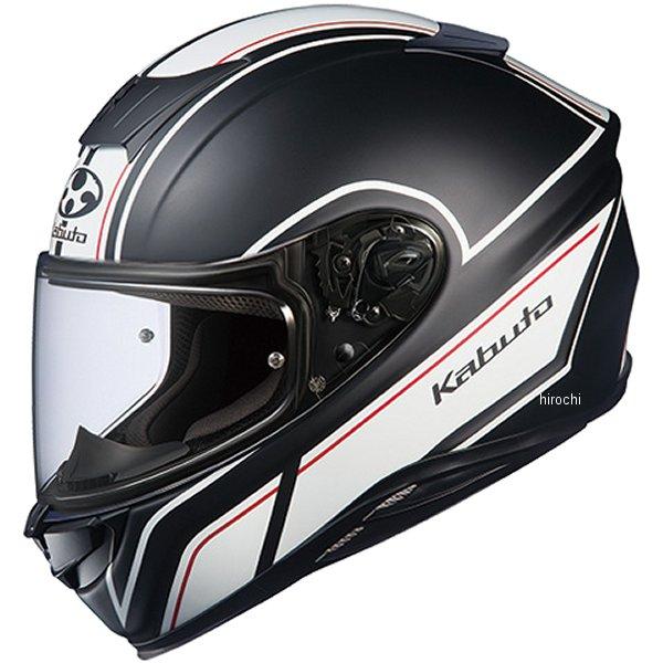 オージーケーカブト OGK KABUTO フルフェイスヘルメット AEROBLADE-5 SMART フラットブラックホワイト XXLサイズ 4966094575274 HD店