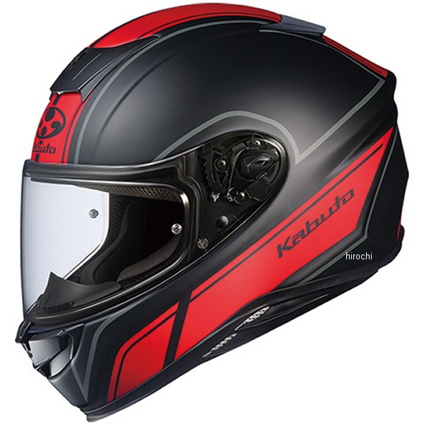 オージーケーカブト OGK KABUTO フルフェイスヘルメット AEROBLADE-5 SMART フラットブラックレッド XSサイズ 4966094575281 HD店
