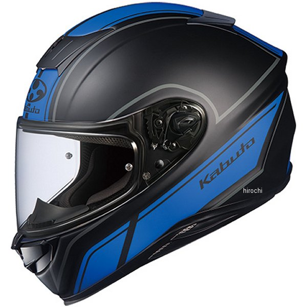 【メーカー在庫あり】 オージーケーカブト OGK KABUTO フルフェイスヘルメット AEROBLADE-5 SMART フラットブラックブルー Lサイズ 4966094575373 HD店