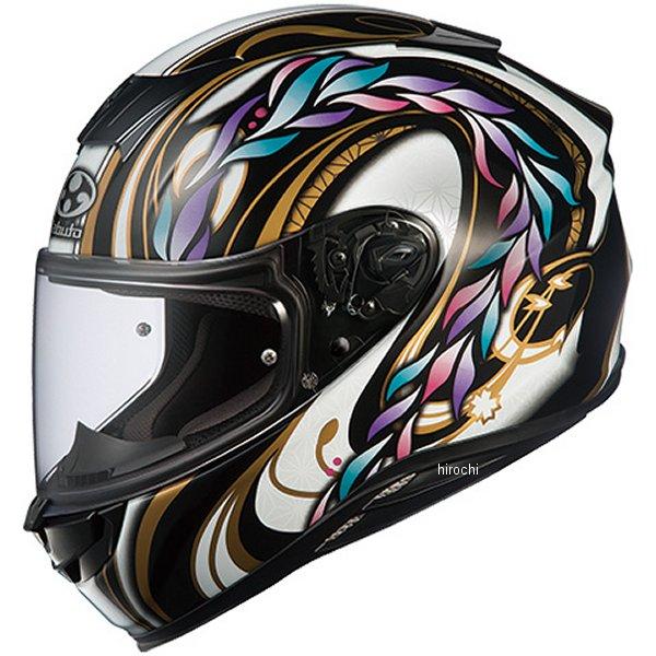 【メーカー在庫あり】 オージーケーカブト OGK KABUTO フルフェイスヘルメット AEROBLADE-5 TAMON ブラック Lサイズ 4966094575434 HD店