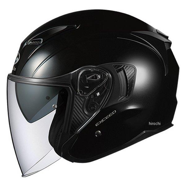 【メーカー在庫あり】 オージーケーカブト OGK KABUT ジェットヘルメット EXCEED ブラックメタリック XLサイズ 4966094576905 HD店