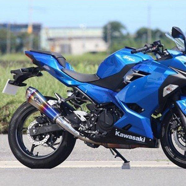 【メーカー在庫あり】 アールズギア r's gear スリップオンマフラー ワイバン タイプR 18年-19年 Ninja250 ドラッグブルー RK33-03RD HD店