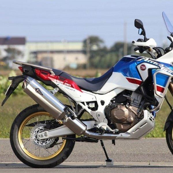 【メーカー在庫あり】 アールズギア r's gear フルエキゾースト ワイバン 17年 CRF1000L アフリカツイン ABS チタン RH37-01RT HD店