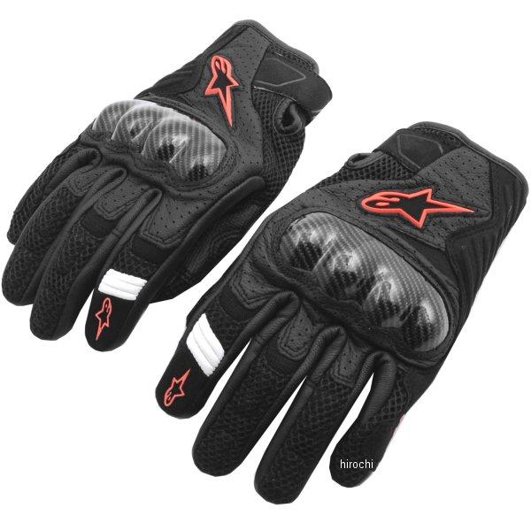 アルパインスターズ Alpinestars 春夏モデル グローブ SMX-1 AIR V2 黒/蛍光赤 Mサイズ 8033637057088 HD店