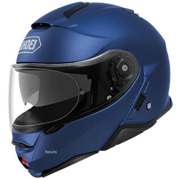 【メーカー在庫あり】 ショウエイ SHOEI システムヘルメット NEOTECII マットブルーメタリック XLサイズ(61cm) 4512048475413 HD店