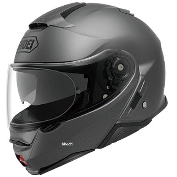 【メーカー在庫あり】 ショウエイ SHOEI システムヘルメット NEOTECII マットディープグレー Lサイズ(59cm) 4512048475451 HD店