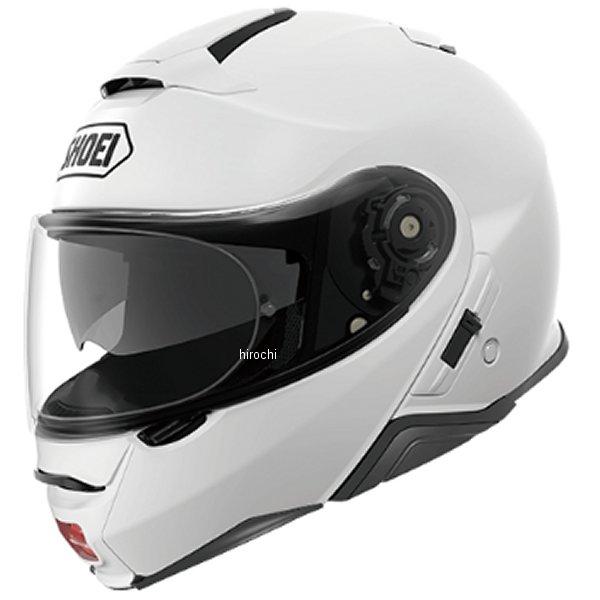 【メーカー在庫あり】 ショウエイ SHOEI システムヘルメット NEOTECII ルミナスホワイト Sサイズ(55cm) 4512048475482 HD店