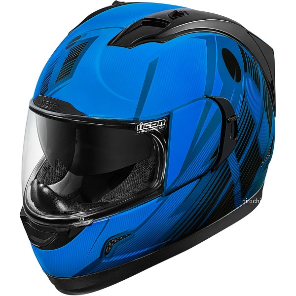 【USA在庫あり】 アイコン ICON フルフェイスヘルメット Alliance GT Primary 青 Sサイズ 0101-8987 HD店