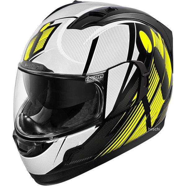 【USA在庫あり】 アイコン ICON フルフェイスヘルメット Alliance GT Primary 蛍光黄色 XSサイズ 0101-9000 HD店
