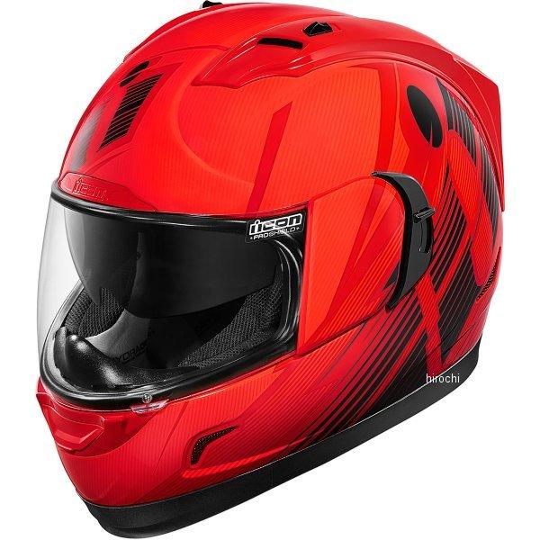【USA在庫あり】 アイコン ICON フルフェイスヘルメット Alliance GT Primary 赤 2Xサイズ 0101-9012 HD店