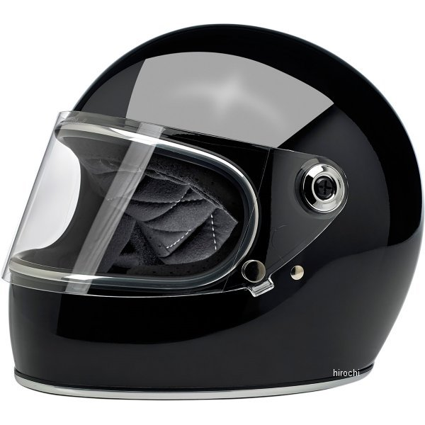 【USA在庫あり】 ビルトウェル Biltwell フルフェイスヘルメット Gringo-S 黒(つや有り) XL 0101-11484 HD店