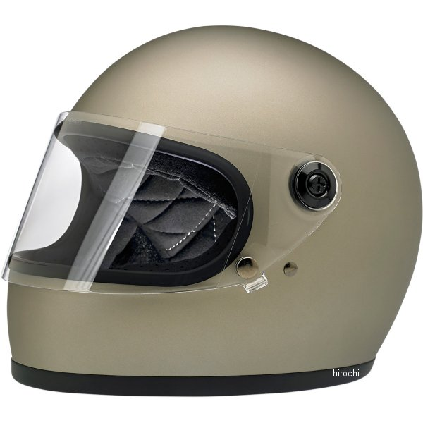 【USA在庫あり】 ビルトウェル Biltwell フルフェイスヘルメット Gringo-S チタン(つや消し) XS 0101-11486 HD店