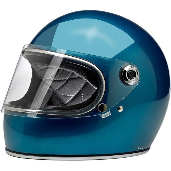 【USA在庫あり】 ビルトウェル Biltwell フルフェイスヘルメット Gringo-S 青(つや有り) XL 0101-11502 HD店
