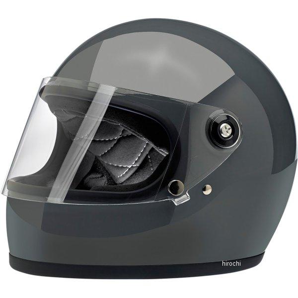 【USA在庫あり】 ビルトウェル Biltwell フルフェイスヘルメット Gringo-S グレー(つや有り) XS 0101-11504 HD店