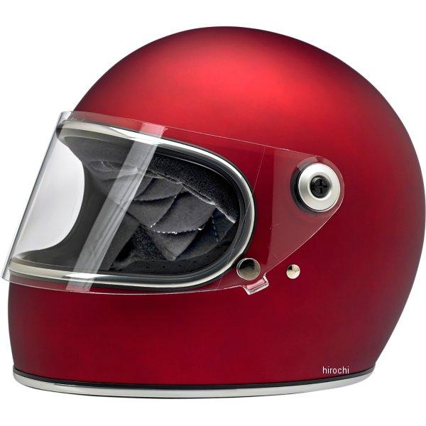 【USA在庫あり】 ビルトウェル Biltwell フルフェイスヘルメット Gringo-S 赤(つや消し) XS 0101-11510 HD店