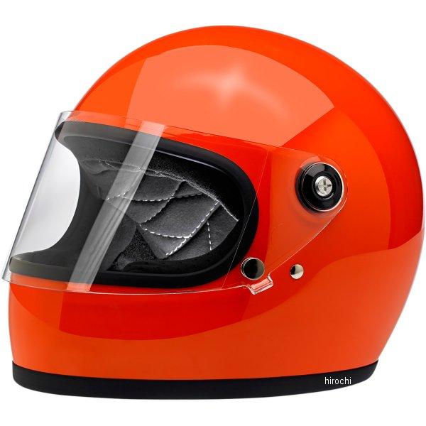 【USA在庫あり】 ビルトウェル Biltwell フルフェイスヘルメット Gringo-S オレンジ(つや有り) XS 0101-11516 HD店