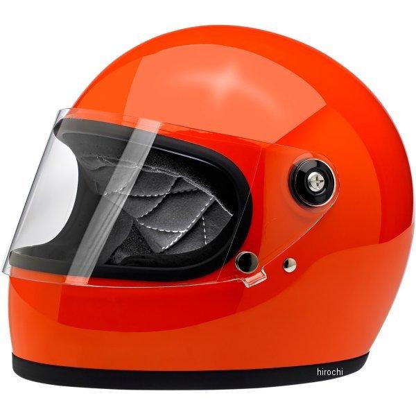 【USA在庫あり】 ビルトウェル Biltwell フルフェイスヘルメット Gringo-S オレンジ(つや有り) MD 0101-11518 HD店