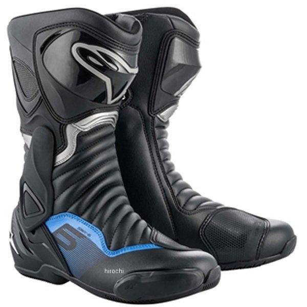 アルパインスターズ 春夏モデル ブーツ SMX 6 3017 1177 黒/ガンメタルブルー 38サイズ 24.0cm 8033637936857 HD店