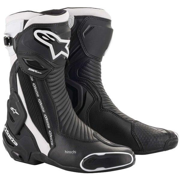 【メーカー在庫あり】 アルパインスターズ 春夏モデル ブーツ SMX PLUS V2 12 黒/白 39サイズ 25.0cm 8033637962009 HD店
