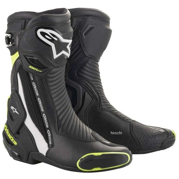アルパインスターズ 2019年春夏モデル ブーツ SMX PLUS V2 125 黒/白/蛍光黄 43サイズ 27.5cm 8033637962306 HD店