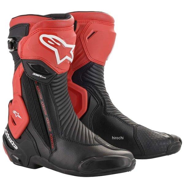 【メーカー在庫あり】 アルパインスターズ 春夏モデル ブーツ SMX PLUS V2 13 黒/赤 42サイズ 26.5cm 8033637962429 HD店