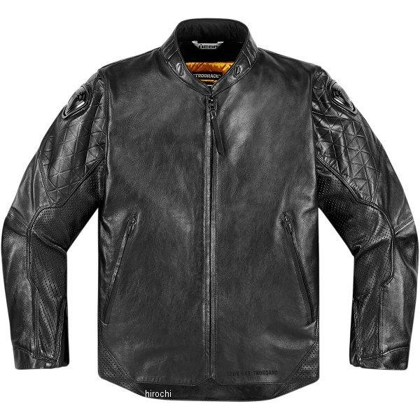 【USA在庫あり】 アイコン ICON ジャケット 1000 レトログレード 黒 XLサイズ 2810-2821 HD店