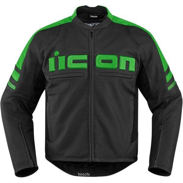 【USA在庫あり】 アイコン ICON レザージャケット モーターヘッド 2 グリーン Mサイズ 2810-2845 HD店