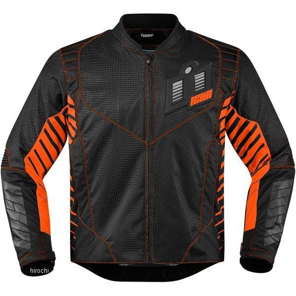 【USA在庫あり】 アイコン ICON スリーシーズンジャケット ワイヤーフォーム オレンジ Mサイズ 2820-3599 HD店