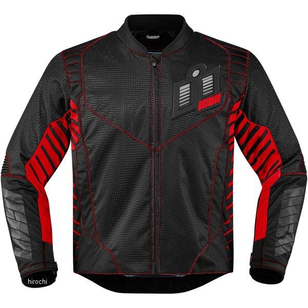 【USA在庫あり】 アイコン ICON スリーシーズンジャケット ワイヤーフォーム 赤 Lサイズ 2820-3605 HD店