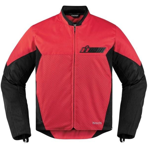 【USA在庫あり】 アイコン ICON 春夏モデル ジャケット コンフリクト 赤 2XLサイズ 2820-3902 HD店