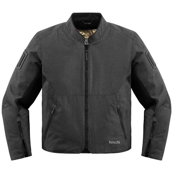 【USA在庫あり】 アイコン ICON 春夏モデル ジャケット Akromont 黒 XLサイズ 2820-3920 HD店