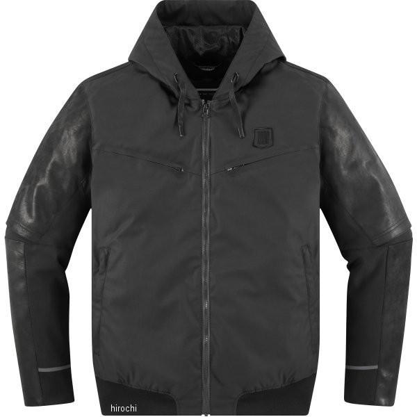 【USA在庫あり】 アイコン ICON 春夏モデル ジャケット バリアル 黒 3XLサイズ 2820-4268 HD店