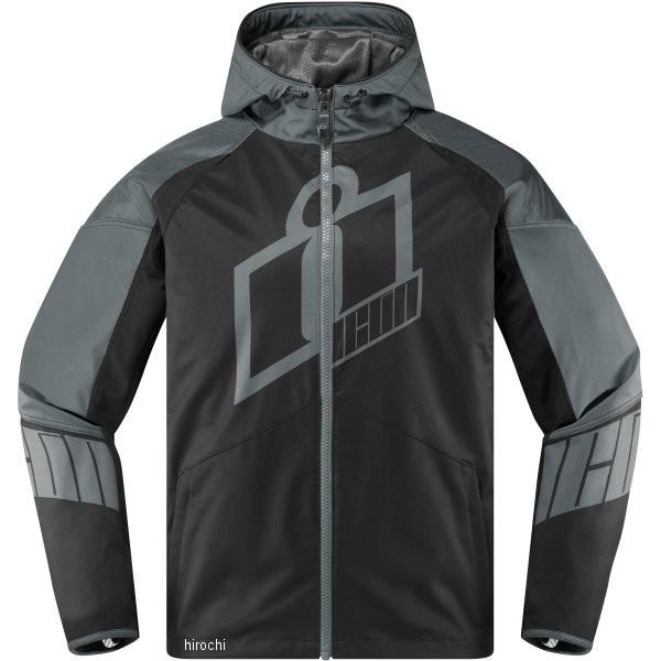 【USA在庫あり】 アイコン ICON 春夏モデル ジャケット Merc クルセイダー グレー Lサイズ 2820-4278 HD店
