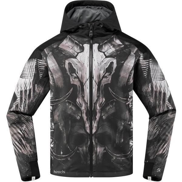 【USA在庫あり】 アイコン ICON 春夏モデル ジャケット Merc Cloven 黒 Lサイズ 2820-4299 HD店