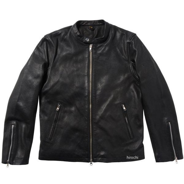 ライズ RIDEZ シングルライダースジャケット THE BLACK FLAG 黒 44インチ BFJ01 HD店