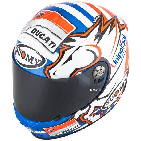 SSR003301 スオーミー SUOMY フルフェイスヘルメット SR-SPORT ドヴィジオーゾGP DUCATI Lサイズ(59cm-60cm) SSR003303 HD店