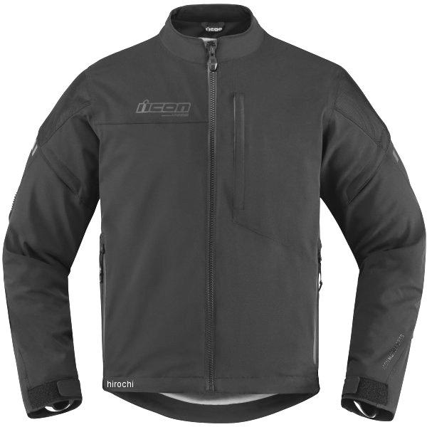 【USA在庫あり】 アイコン ICON 秋冬モデル 防水ジャケット Tarmac 黒 2XLサイズ 2820-4028 HD店