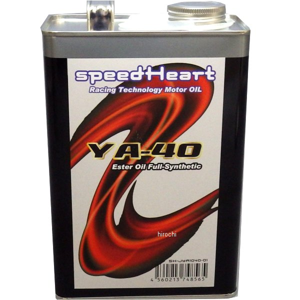 スピードハート speedHeart 4ST エンジンオイル YA-40 10W-40 4L SH-JYA1040-04 HD店