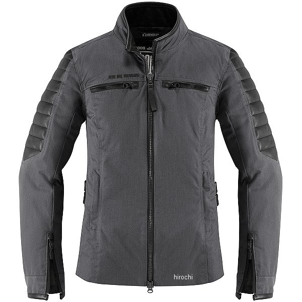 【USA在庫あり】 アイコン ICON 秋冬モデル ジャケット MH 1000 レディース 黒 XLサイズ 2822-1055 HD店
