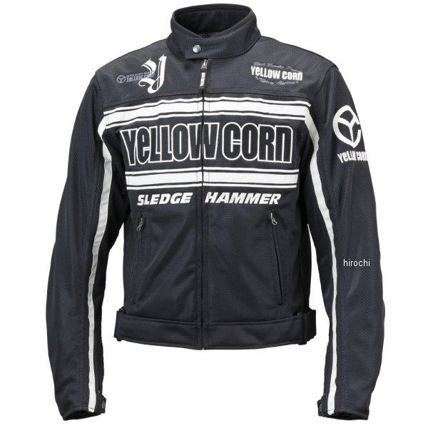 イエローコーン YeLLOW CORN 春夏モデル メッシュジャケット 黒/黒 Mサイズ BB-9108 HD店